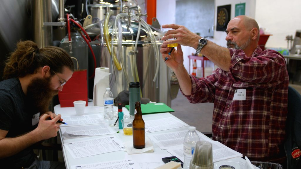 Tim Tooker of Olde Hickory Brewery Discusses the Finer Points of the Beer.