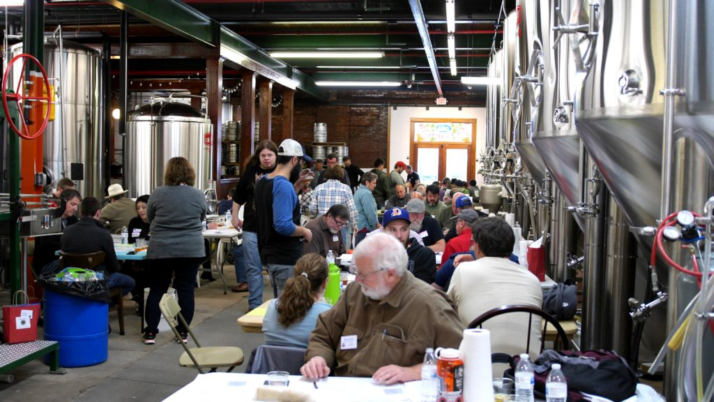 Judging Commercial Beer at the Carolina Championship of Beer