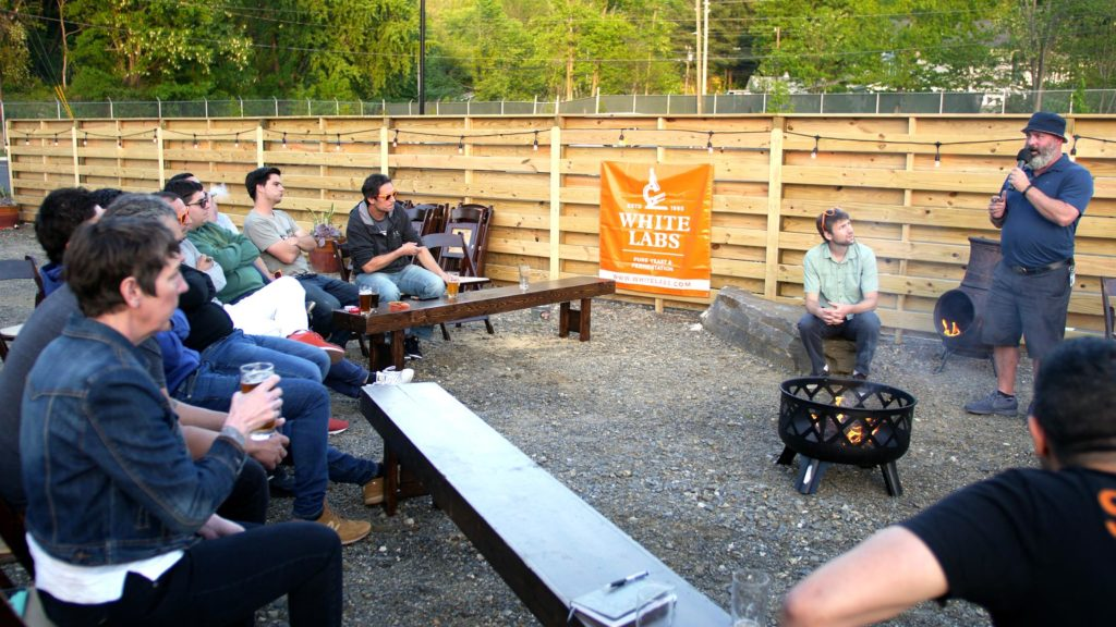 Chris White - White Labs - Fireside Chat 05-06-18 - Asheville, NC