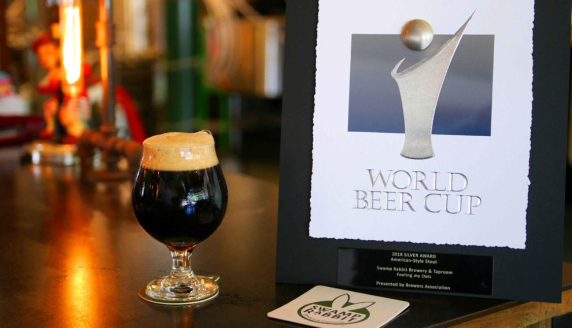 Swamp Rabbit Brewery Greenville, SC Celebrates World Cup Award