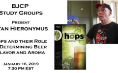 Webinar - Stan Hieronymus - Hops and their Role in Determining Beer Flavor and Aroma