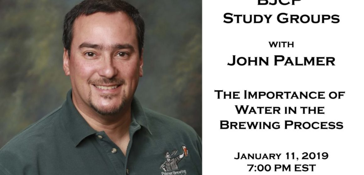 Webinar: John Palmer - The Importance of Water in the Brewing Process